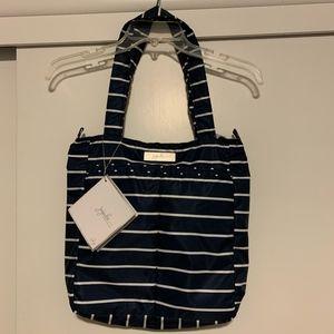 Jujube Be Light Nantucket Zippered Tote Bag NWT